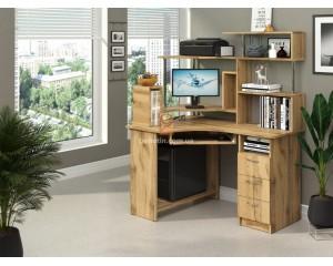 Компьютерный стол Компакт с (надстройкой)