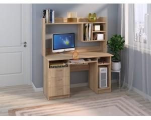 Компьютерный стол Оскар (с надстройкой)