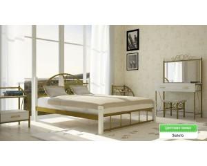 Кровать Анжелика на деревянных ногах